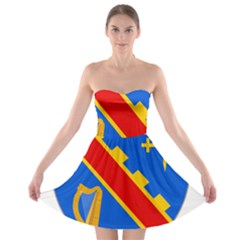 County Armagh Coat of Arms Strapless Bra Top Dress