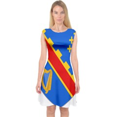 County Armagh Coat of Arms Capsleeve Midi Dress