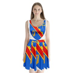 County Armagh Coat of Arms Split Back Mini Dress