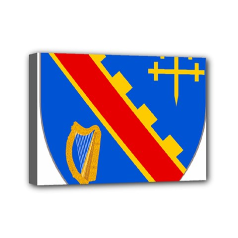 County Armagh Coat of Arms Mini Canvas 7  x 5