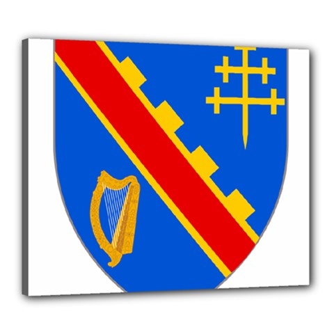 County Armagh Coat of Arms Canvas 24  x 20
