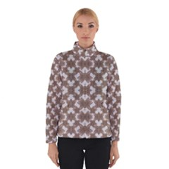 Stylized Leaves Floral Collage Winterwear