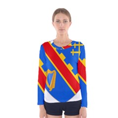 County Armagh Coat of Arms Women s Long Sleeve Tee