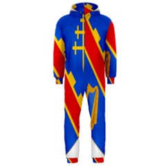 County Armagh Coat of Arms Hooded Jumpsuit (Men)