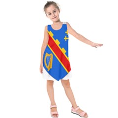 County Armagh Coat of Arms Kids  Sleeveless Dress