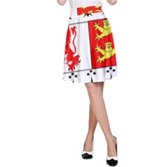 County Carlow Coat of Arms A-Line Skirt