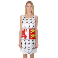 County Carlow Coat of Arms Sleeveless Satin Nightdress