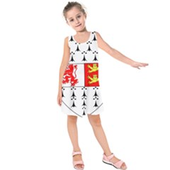 County Carlow Coat of Arms Kids  Sleeveless Dress
