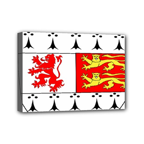 County Carlow Coat of Arms Mini Canvas 7  x 5