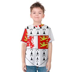 County Carlow Coat of Arms Kids  Cotton Tee