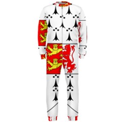 County Carlow Coat Of Arms Onepiece Jumpsuit (men)