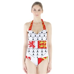 County Carlow Coat of Arms Halter Swimsuit
