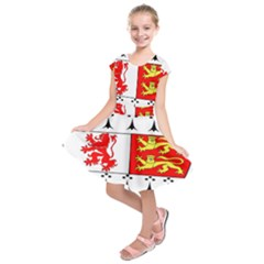 County Carlow Coat of Arms Kids  Short Sleeve Dress