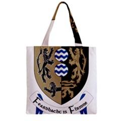 Cavan County Council Crest Zipper Grocery Tote Bag