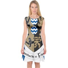 Cavan County Council Crest Capsleeve Midi Dress