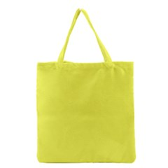 Neon Color - Light Brilliant Yellow Grocery Tote Bag