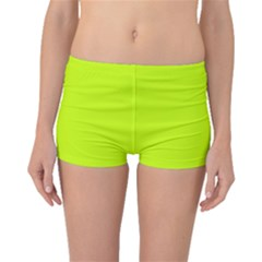 Neon Color - Luminous Vivid Lime Green Boyleg Bikini Bottoms