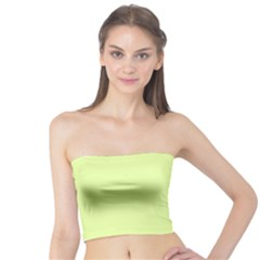 Neon Color - Pale Lime Green Tube Top