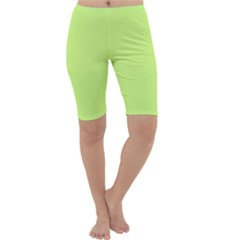 Neon Color - Very Light Spring Bud Cropped Leggings