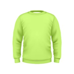Neon Color - Very Light Spring Bud Kids  Sweatshirt