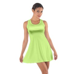 Neon Color - Very Light Spring Bud Cotton Racerback Dress