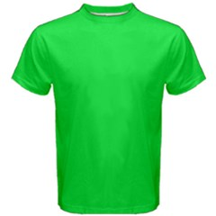 Neon Color - Vivid Malachite Green Men s Cotton Tee