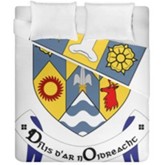 County Clare Coat of Arms Duvet Cover Double Side (California King Size)