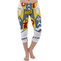 County Clare Coat of Arms Capri Yoga Leggings