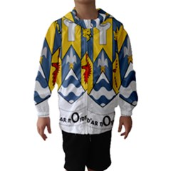 County Clare Coat of Arms Hooded Wind Breaker (Kids)