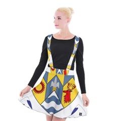 County Clare Coat Of Arms Suspender Skater Skirt