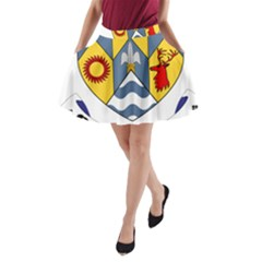 County Clare Coat of Arms A-Line Pocket Skirt