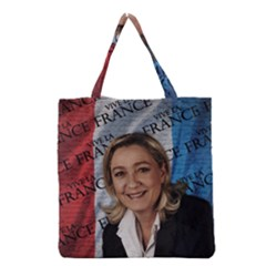 Marine Le Pen Grocery Tote Bag