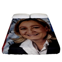 Marine Le Pen Fitted Sheet (king Size)