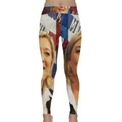 Marine Le Pen Classic Yoga Leggings