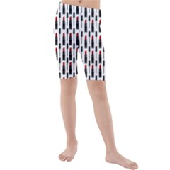 Makeup Kids  Mid Length Swim Shorts