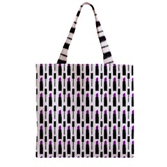 Makeup Zipper Grocery Tote Bag