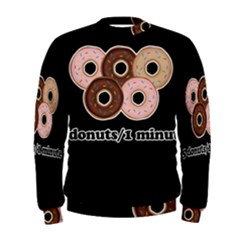 Five donuts in one minute  Men s Sweatshirt