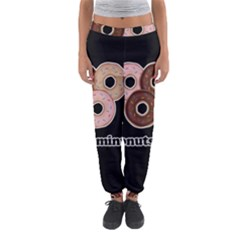 Five donuts in one minute  Women s Jogger Sweatpants