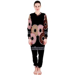 Five donuts in one minute  OnePiece Jumpsuit (Ladies)