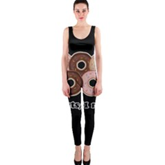 Five donuts in one minute  OnePiece Catsuit