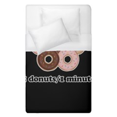 Five donuts in one minute  Duvet Cover (Single Size)