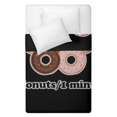 Five donuts in one minute  Duvet Cover Double Side (Single Size)