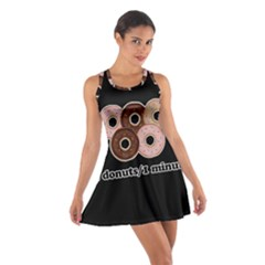 Five donuts in one minute  Cotton Racerback Dress