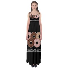 Five donuts in one minute  Empire Waist Maxi Dress