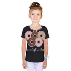 Five donuts in one minute  Kids  One Piece Tee