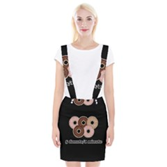 Five donuts in one minute  Braces Suspender Skirt