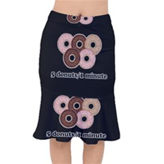 Five donuts in one minute  Mermaid Skirt