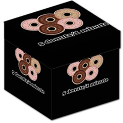 Five donuts in one minute  Storage Stool 12