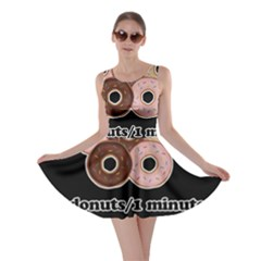 Five donuts in one minute  Skater Dress