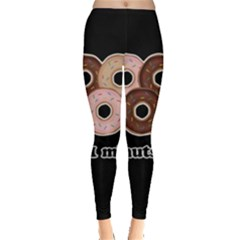 Five donuts in one minute  Leggings